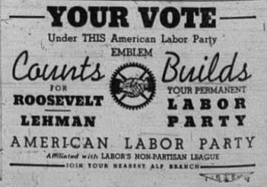 ALP Promotion from 1936 election