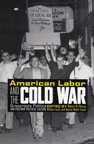 book cover for American Labor and the Cold War