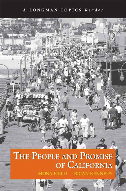 book cover People and Promise of California